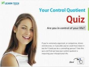 Your Control Quotient Quiz