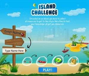 Island Challenge Game