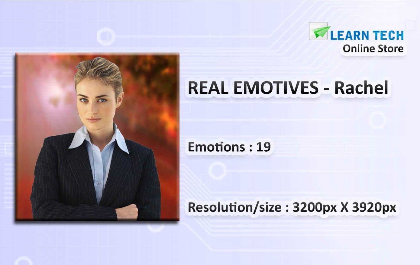 Rachel-Character Packs for training decks-PowerPoint-E learning Solutions