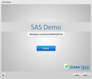 SAS Demo