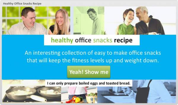 Learntech - Demo - Healthy Office Snacks Recipe