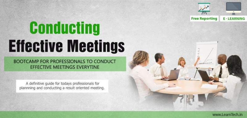Conducting Effective Meetings - Leadership Arsenal - off the shelf E learning