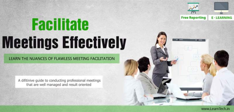 Facilitate Meetings Effectively - Leadership Arsenal - off the shelf E learning