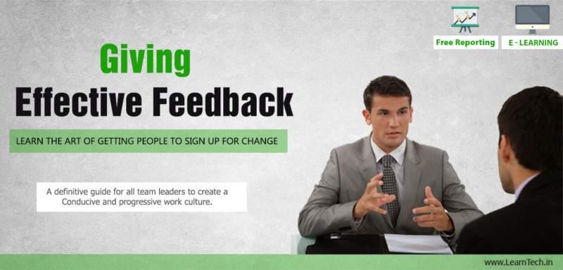 Giving Feedback - Leadership Arsenal - off the shelf E learning