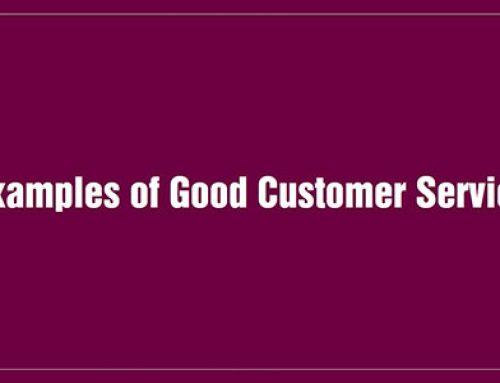Example of Good Customer Service