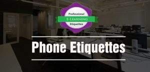 Phone Etiquettes